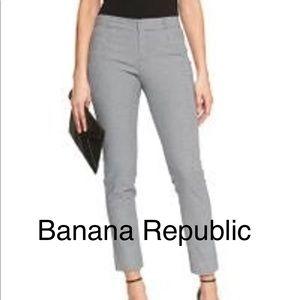 BANANA REPUBLIC Sloan Fit Jacquered Pants